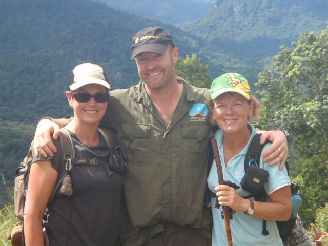 Liz, Aidan and Allie