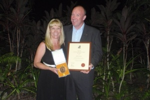 Aidan Grimes ANZAC of the Year 2012