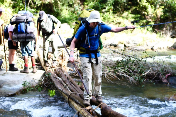 Some of the learnings you get by doing the Kokoda Track with a qualified guide.