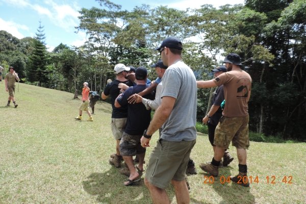 Brigade Hill on Kokoda Track ANZAC Trek 2014
