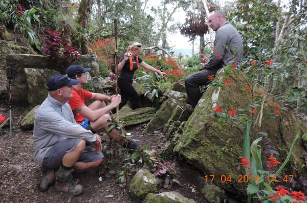 Cons Rock on Kokoda Track ANZAC Trek 2014