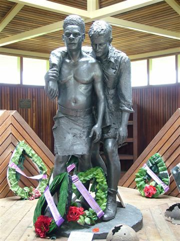 Visit the Kokoda War Museum and pay tribute to the Australian Diggers and Fuzzy Wuzzy Angels of the Kokoda Track